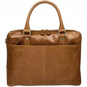 16'' Business Bag Rosenborg,Golden Tan