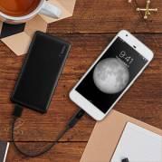 Powerbank Pocket Power 5K m/USB-C til MicroUSB Adapter