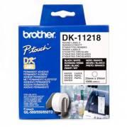 Brother DK-11218 Etiketter  (2,4 cm) 1000stk.