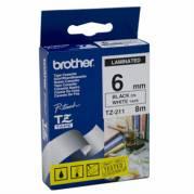 Brother TZe 211 Lamineret bånd  (0,6 cm x 8 m) 1rulle(r)