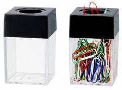Clipsdispenser Büngers Magnetisk - Klar/sort