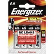 Energizer MAX AA/LR6 Batteri - 4 stk