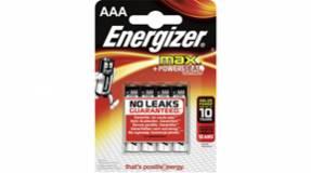Energizer MAX AAA/LR03 Batteri - 4 stk