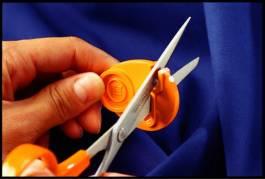 Kontorsaks Fiskars Papirsaks 18 cm - Orange