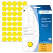 HERMA Etiketter 19 mm rund 1280etikette(r)