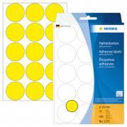 Herma etiket manuel ø32 gul (480)