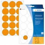 Herma etiket manuel ø32 neon orange (360)