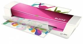 Lamineringsmaskine Leitz A4 iLAM HomeOffice - Pink