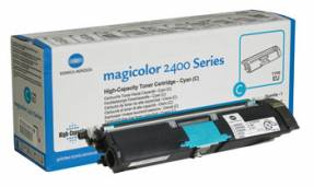 Magicolor 2400 toner cyan 4.5K