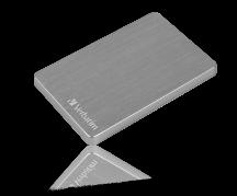 "Store ´n´ Go ALU Slim 2.5"" Ext. Hard Drive 2TB, Space Grey"