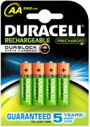 Batteri Duracell StayCharged HR6/AA - 4 stk.
